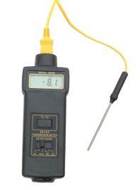供应青岛数显接触式测温仪,温度计热电偶接触式温度表TM1310