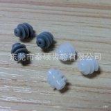 智能锁用塑胶蜗杆M0.5*¢5*10L*¢1.4耐磨损低噪音价格优厂家直销