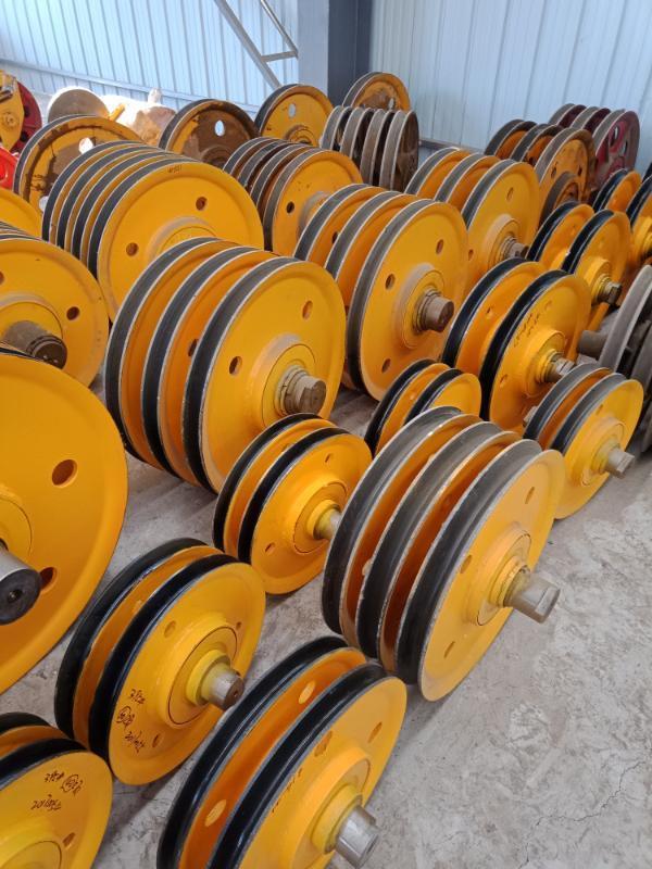 5t铸钢滑轮组 天车滑轮组 滑车滑轮 地轮