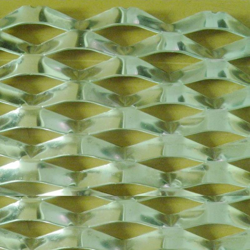 菱形拉伸網 鋁板裝飾網 裝飾用鋁板網