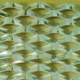 菱形拉伸网 铝板装饰网 装饰用铝板网