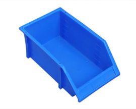 塑胶斜口零件盒