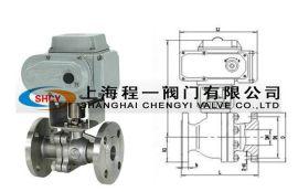 Q941W-16P不锈钢电动法兰球阀
