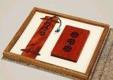 玲珑205窗棂书签,窗棂名片夹商务礼品二件套装 会销纪念礼品