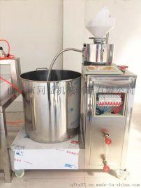 干净卫生果蔬豆腐机 各种花生黄豆豆腐机 技术免费