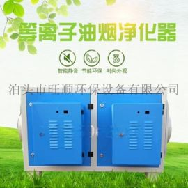 沧州旺顺低温等离子油烟净化器废气处理环保设备
