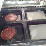 牛排真空貼體全自動包裝機--貝爾貼體包裝設備