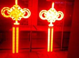 中国结过街灯