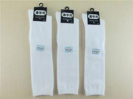 男女儿童袜子 纯棉英式学生袜长筒 运动跳舞及膝高筒袜