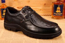 广州男鞋工厂 皮鞋厂外贸男鞋 真皮休闲鞋 驾车鞋