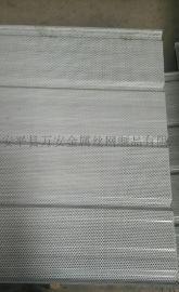 镀铝锌彩钢穿孔压型钢底板配和铝镁锰屋面系统