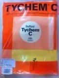 美國杜邦C級防化服Tychem 黃色防酸鹼防輻射工作服化學