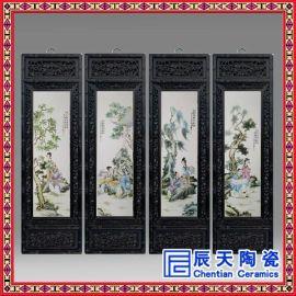 瓷板画定做 景德镇陶瓷瓷板画