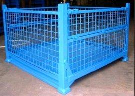 聚成物流用的金属仓储笼物流周转箱(ZF-ZZX)