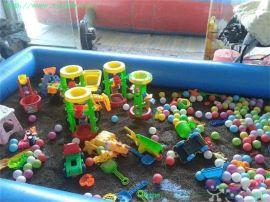 厂家直销,儿童游乐设备,充气水池,/决明子,玩沙玩具/沙滩池