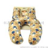 柔飞儿童u型枕护颈枕婴儿定型枕防侧翻枕头汽车安全座椅枕