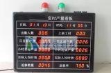 LED电子看板数码管LED显示屏JIT生产管理PLC设备计数