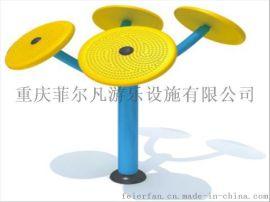 广场/公园/小区专用 室外健身路径 户外健身器材:太极揉推器