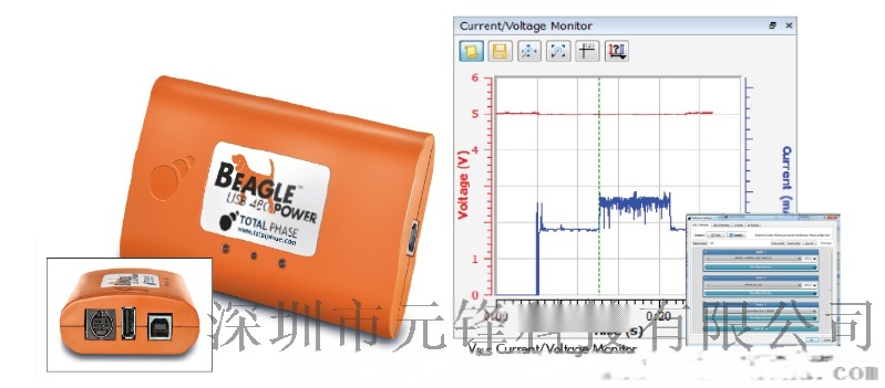 TOTALPHASE Beagle 5000 SuperSpe USB3.0协议分析仪(1.X/2.0/3.0/3.1)