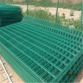 河北安平茂尔丝网厂现货供应双边丝护栏网 网格结构简练 美观实用