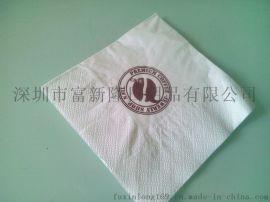 深圳南山餐厅广告餐巾纸/盒装餐巾纸/蛇口盒抽餐巾纸印刷设计定做厂家公司