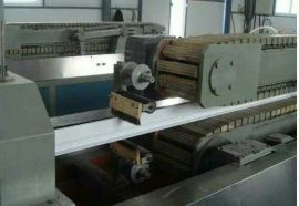 PVC木塑室内地板生产设备装饰板材挤出机青岛佳森厂家直销价格低
