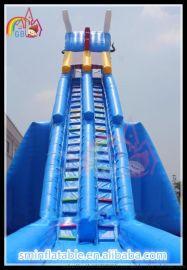 大型充气水上玩具 水上滑梯  **堡 跳跳乐厂家批发定制