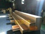 北京音乐教室用可移动伸缩合唱台 樟子松实木合唱台阶