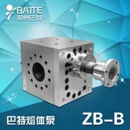 巴特熔喷计量泵 聚丙烯熔喷料计量泵