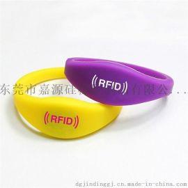 定制硅胶手牌 RFID硅胶手环 桑拿钥匙手腕带