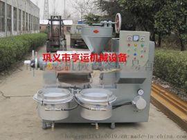 亨运机械68型家用榨油机生产线/小型商用花生榨油机设备/中型螺旋榨油机厂家