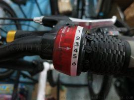 自行车山地车折叠车微转转把变速把6/7速用