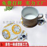 创意可爱卡通隔热垫立体硅胶杯垫 餐垫茶杯垫 防烫杯子垫厂家定制