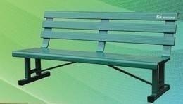 网球场铝合金休息椅