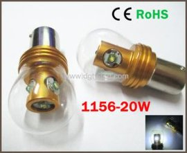 厂家**LED 转向灯 1156-20W 带玻璃罩