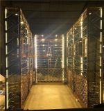 不鏽鋼洋酒架 紅酒展示陳列架 現代簡約不鏽鋼酒櫃