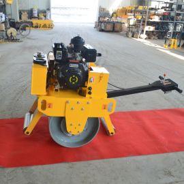 新款小型单轮压路机 手扶单钢轮压路机 汽油柴油振动碾压机厂家