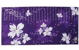 紫色白叶魔术头巾(T-2137)