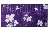紫色白葉魔術頭巾(T-2137)