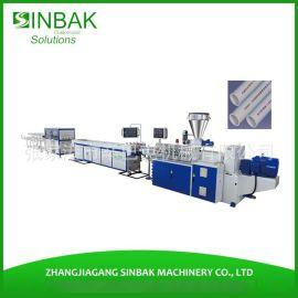 HDPE燃气管管材挤出生产线 PE高速管材挤出生产线 管材生产线