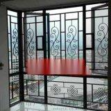 仿木紋鋁窗花價格-定製復古鋁窗花