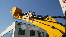挖沟槽用的多功能小型挖掘机 中小型轮式挖掘机
