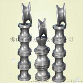广州焊管机组 高频直缝楼梯立柱管钢管不锈钢花管机制管机