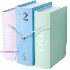 创意仿古书本桌台钟 Book Clocks