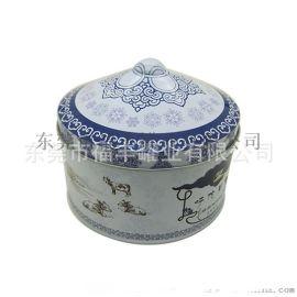 供应蒙古包形马口铁奶糖盒 原味糖果铁盒 铁罐 礼品盒
