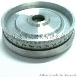 手轮刻度盘线切割配件 通用机床附件不锈钢刻度盘