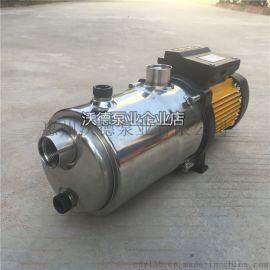 不锈钢卧式多级离心泵 自吸泵TECNO25 3M泵