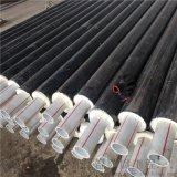 高密度聚乙烯聚氨酯直埋保温管DN125/133聚氨酯热水保温管