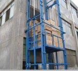 导轨式升降货梯工业二三层升降台启运载货电车库电梯