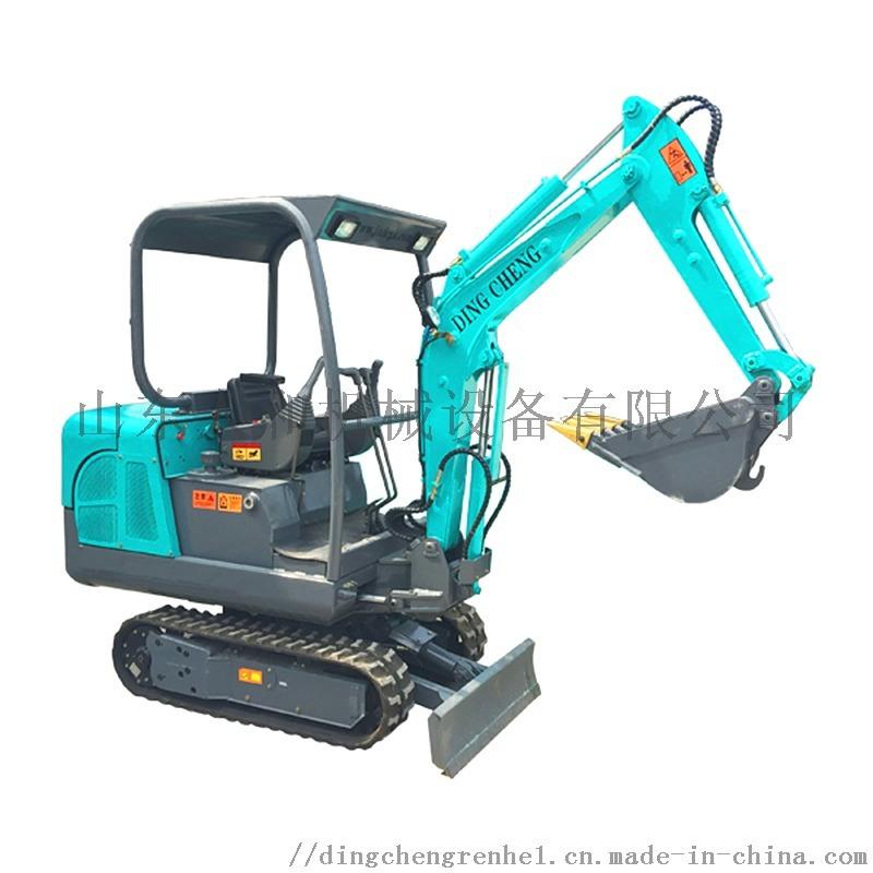 鼎诚1.8吨履带式液压挖掘机 小挖机 挖出致富路